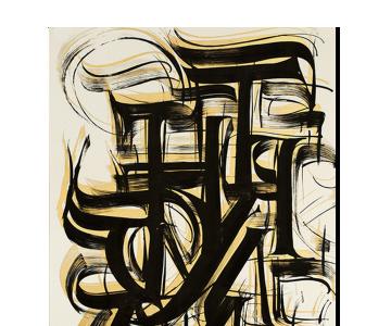 Listagem_Poster caligrafia preto e dourado2